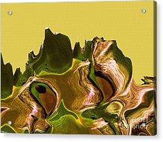 Mount Strength-day Acrylic Print by David Winson