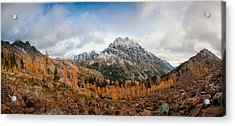 Acrylic Print featuring the photograph Mount Stuart Panorama by Brian Bonham