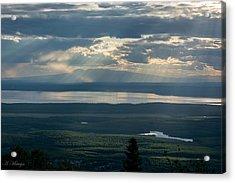 Mount Susitna Acrylic Print