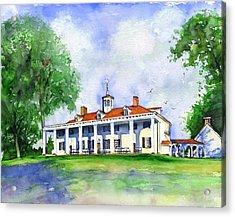 Mount Vernon Front Acrylic Print