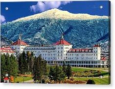 Mount Washington Hotel Acrylic Print