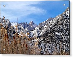 Mount Whitney - California Acrylic Print