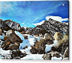 Mount Whitney Vista Acrylic Print by Glenn McCarthy Art and Photography