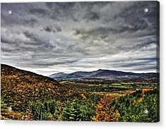 Mountain At The Windy Gap Acrylic Print by Tony Reddington