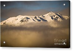 Mountain Cloud Acrylic Print by Tim Hester