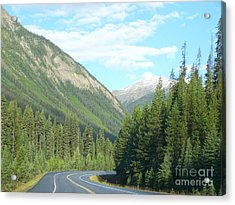 Mountain Cruise Acrylic Print by Christian Mattison