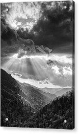 Mountain Drama Acrylic Print