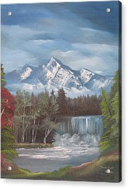 Mountain Dreams Acrylic Print by Dawn Nickel