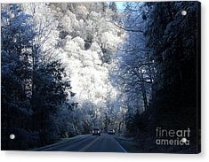 Mountain Drive Acrylic Print by Jeanne Forsythe