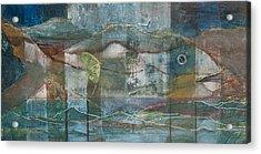 Mountain Fish Acrylic Print
