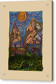 Mountain Folk Acrylic Print