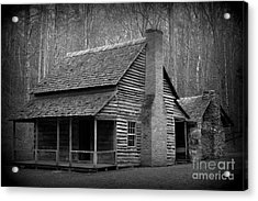 Mountain Folks In Cades Cove Acrylic Print