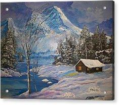 Mountain Hideaway Acrylic Print