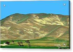 Mountain Hues Acrylic Print by Susan Wiedmann