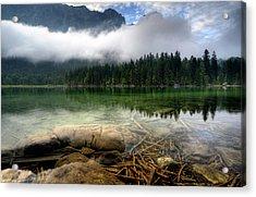 Mountain Lake Acrylic Print by