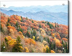 Mountain Layers Acrylic Print by Scott Moore