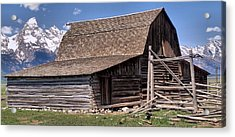 Mountain Living Acrylic Print by Dan Sproul