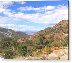 Acrylic Print featuring the photograph Mountain Looking by Marilyn Diaz