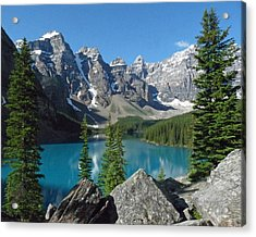 Acrylic Print featuring the photograph Mountain Magic by Alan Socolik