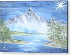 Mountain Mist 2 Acrylic Print