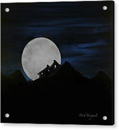 Mountain Monastery Acrylic Print