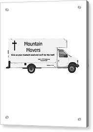 Mountain Movers Acrylic Print by Stephanie Grooms