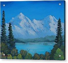 Mountain Outlook Acrylic Print