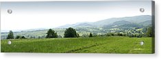 Mountain Panorama Acrylic Print