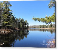 Mountain Pond - Pocono Mountains Acrylic Print