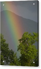 Mountain Rainbow Acrylic Print