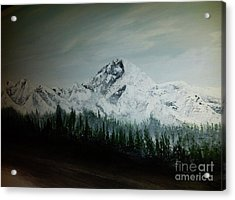 Mountain Range Acrylic Print by Pheonix Creations