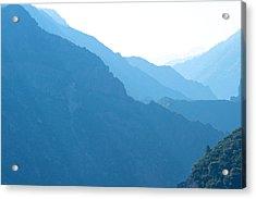 Mountain Range Landscape Acrylic Print