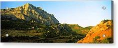 Mountain Range, Montagne Acrylic Print