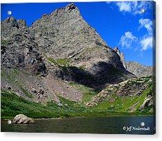 Mountain Shadow Acrylic Print