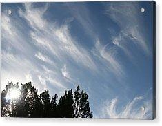 Mountain Sky Acrylic Print
