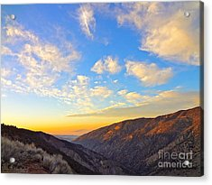 Mountain Soup Acrylic Print by Gem S Visionary