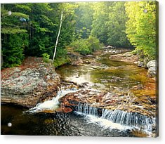Acrylic Print featuring the photograph Mountain Stream by Elaine Franklin