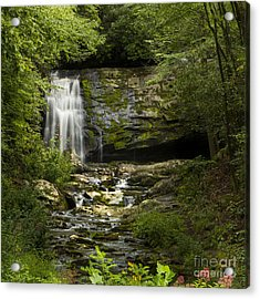 Mountain Stream Falls Acrylic Print