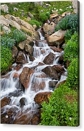 Acrylic Print featuring the photograph Mountain Stream by Ronda Kimbrow