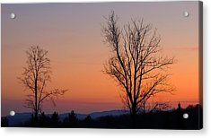 Mountain Sunset 1 Acrylic Print