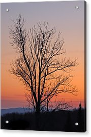 Mountain Sunset 2 Acrylic Print
