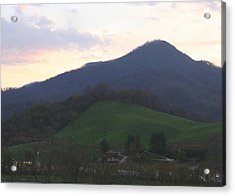 Mountain Sunset Eleven Acrylic Print