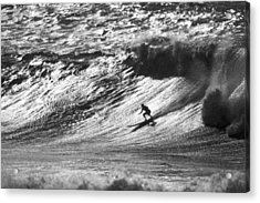 Mountain Surfer Acrylic Print by Sean Davey