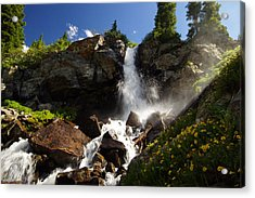 Mountain Tears Acrylic Print