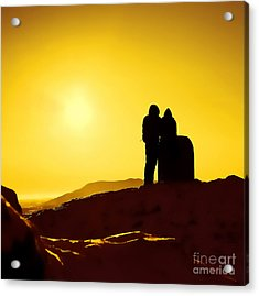 Acrylic Print featuring the photograph Mountain Top Sunset by Craig B