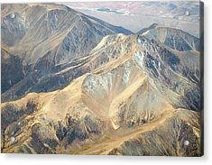 Acrylic Print featuring the photograph Mountain View 2 by Mark Greenberg