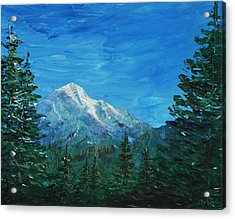 Mountain View Acrylic Print by Anastasiya Malakhova