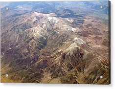 Acrylic Print featuring the photograph Mountain View by Mark Greenberg