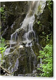 Mountain Waterfall Acrylic Print by Gary Neiss
