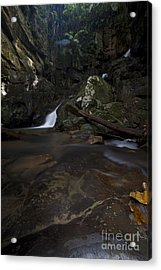 Acrylic Print featuring the photograph Mountain Waters. by Gary Bridger